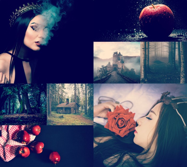 Snow White collage 1